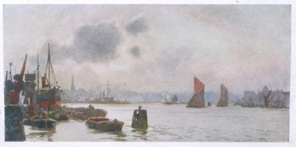 The Thames at Rotherhithe