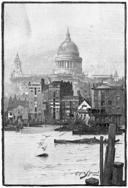 The river at St Paul's