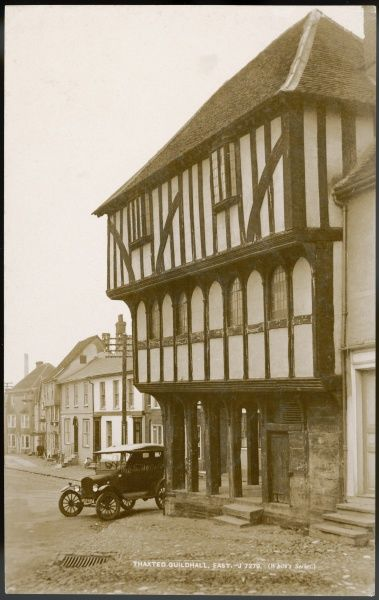 Built over six hundred years ago, the Guildhall in Thaxted, Essex continues to represent the civic life of the town and is still in daily use