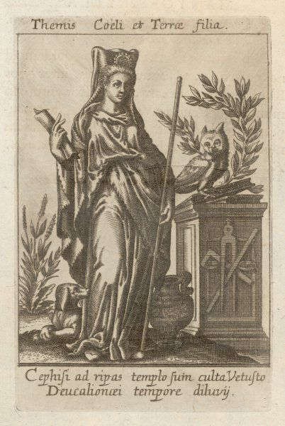Greek/Roman deity, protectress of hospitality and of the oppressed, possessed oracular powers