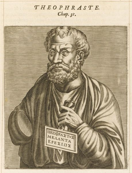 THEOPHRASTUS Greek philosopher, writer and naturalist
