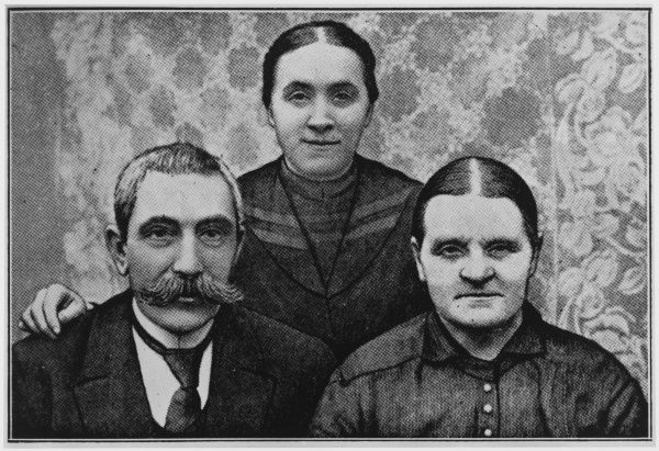 German farm girl of Konnersreuth who developed stigmata ater a work accident, especially on Fridays, with her parents