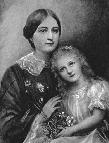 THERESE MARTIN with her mother Date: 1873 - 1897