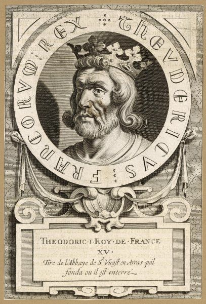 THIERRY III (Theodoric) King of the Franks