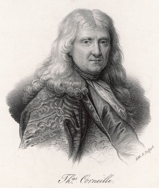 THOMAS CORNEILLE French dramatist, younger brother of Pierre