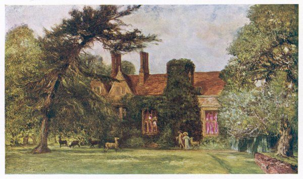 THOMAS GRAY English poet's home and garden, Stoke Poges Manor