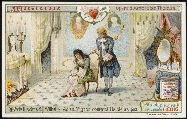 Act 2 scene 8 : Wilhelm Meister decides he cannot travel with Mignon, and leaves her, telling her to be of good heart
