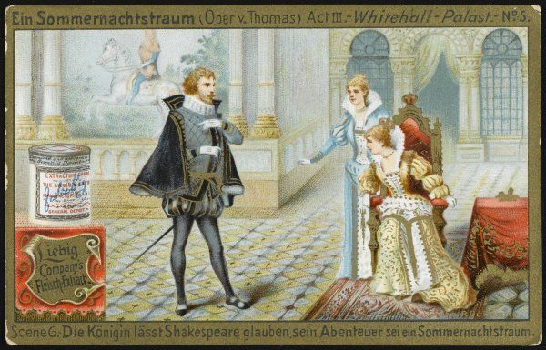 Act three : Shakespeare and queen Elizabeth