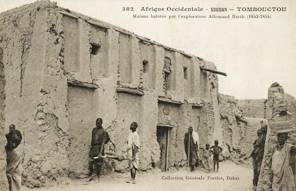 Timbuktu, Mali - House belonging to German Explorer Heinrich Barth (occupied 1853 - 1854)