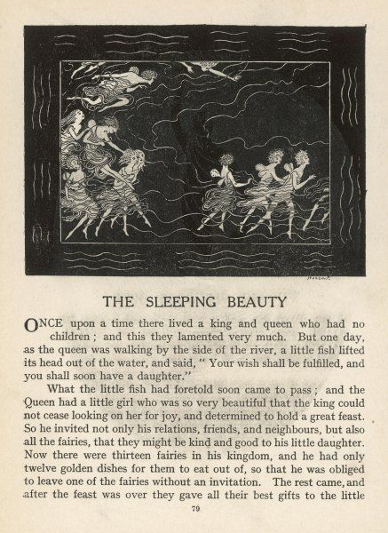 'Once upon a time...' begins the tale of Sleeping Beauty
