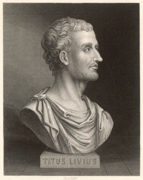 TITUS LIVIUS - Roman historian and writer (also known as Livy)