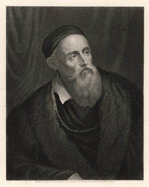 TIZIANO VECELLI(O) Popularly known as TITIAN, Italian artist