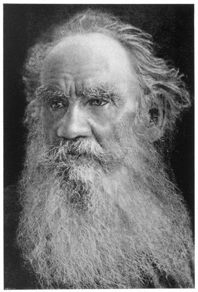LEO TOLSTOY Russian writer and moralist