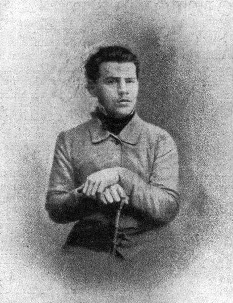 LEO TOLSTOY Russian writer and philosopher as a young man, when he left for the Caucasus in 1851. Date: 1828 - 1910
