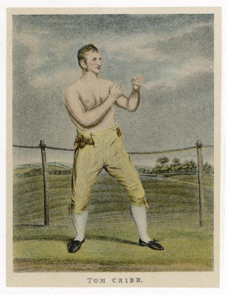 English boxer (1781-1848) who fought American former slave Tom Molyneux in the first Interracial Boxing Bout at Copthall Common in 1809