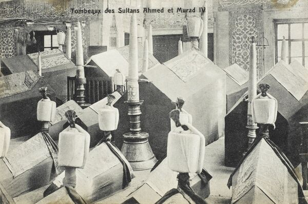 The Tombs of Sultans Ahmed I and Murad IV