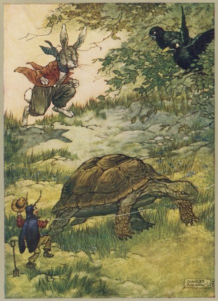 The Hare and the Tortoise Date: 1912
