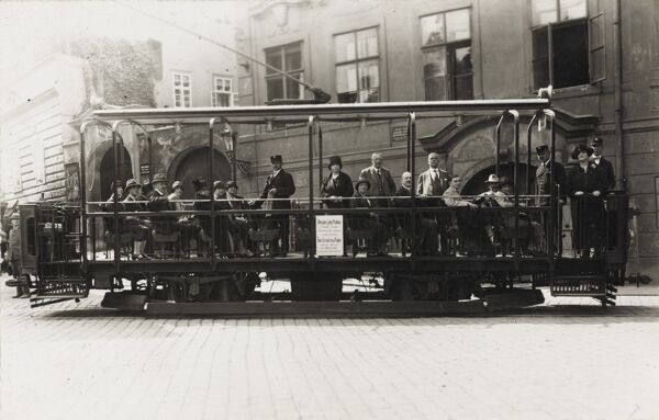 Open Tourist Tour Tram - Prague, Czech Republic