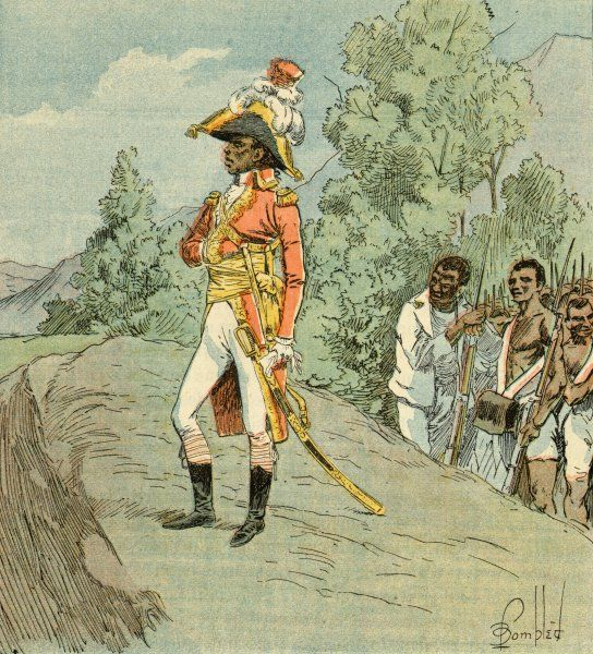 "FRANCOIS-DOMINIQUE TOUSSAINT Haitian general and liberator: ""not a man without merit&quot"