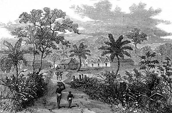 Accroful was one of the towns where the British and set up camp on their expedition to defeat the King of Ashanti during the 2nd Ashanti War (1873-74). In 1873, after decades of an uneasy relationship between the British and the Acing people of central Ghana