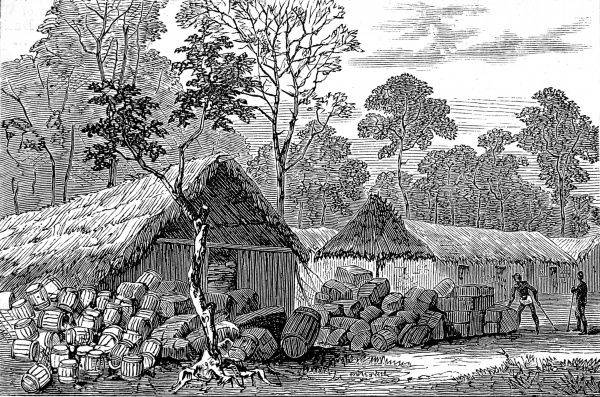 Barracoe was one of the towns which the British took on their expedition to defeat the King of Ashanti during the 2nd Ashanti War (1873-74). In 1873, after decades of an uneasy relationship between the British and the Acing people of central Ghana