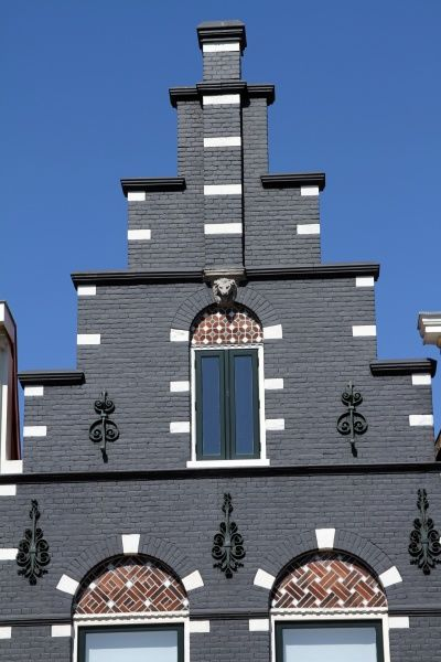 Traditional house in Haarlem, The Netherlands circa 2008
