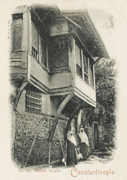 A traditional Jumba house - Constantinople (Istanbul)