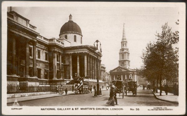 National Gallery and St. Martin's church