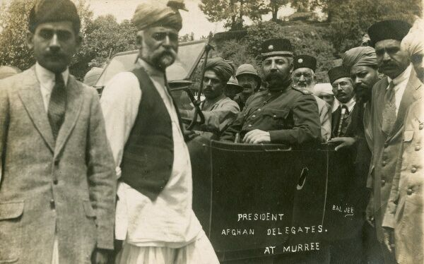 Treaty of Rawalpindi, 8th August 1919 - between Afghanistan and Britain during the Third Anglo-Afghan War. Sardar Ali Ahmad Khan (pictured) represented the Amir of Afghanistan and Sir Hamilton Grant represented the Indian government