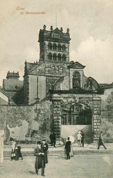 Germany - Trier. The oldest City in Germany - St Matthias Abbey Date: 1909