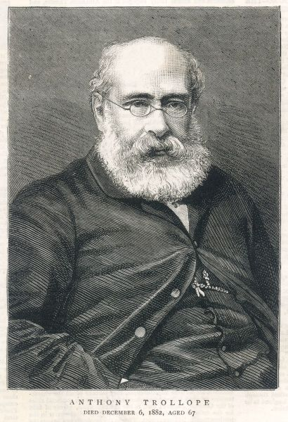 ANTHONY TROLLOPE English novelist in old age