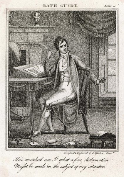 or rather, NOT writing, for this author is evidently suffering from Writer's Block... Date: 1807