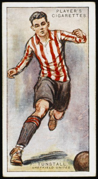 Fred Tunstall, player for Sheffield United