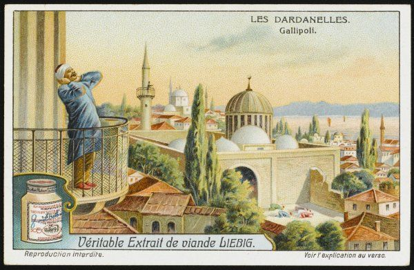 Dardanelles: Gallipoli, with a Muezzin calling the people to prayer
