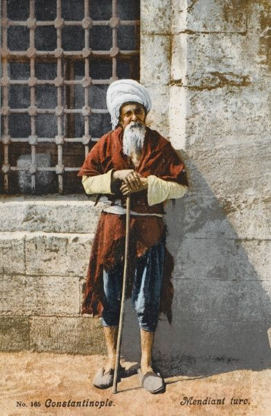 Turkish Beggar - Constantinople