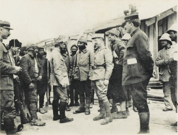 Turkish Prisoners of War in the Dardanelles - Moudros, 1915