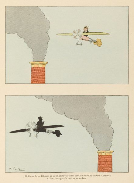 The aviator who takes pride in his machine will avoid flying through effusions such as factory smoke
