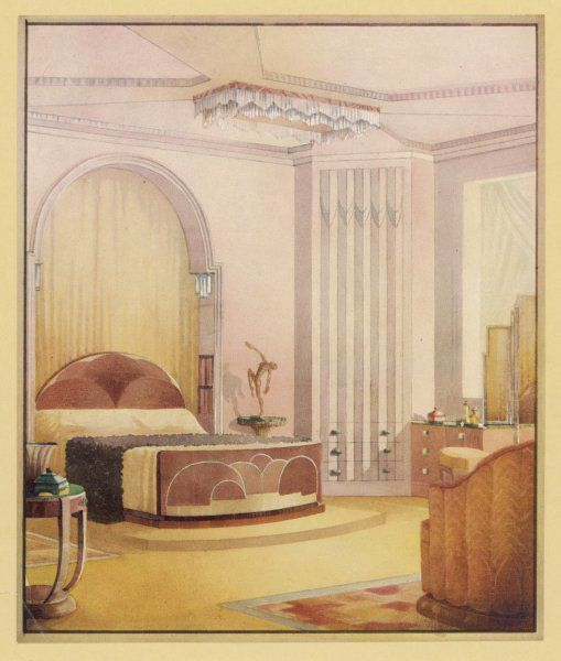 A traditional bedroom suggestion from Trollope Studios