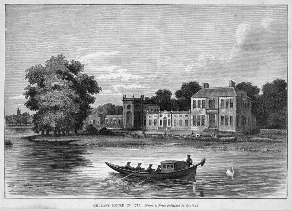Orleans House, on the Thames at Twickenham