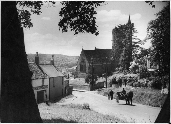 The village of Uley in Gloucestershire