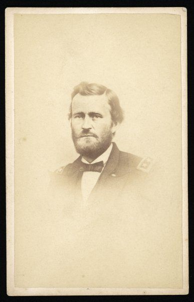 ULYSSES S GRANT American Civil War General, and later President