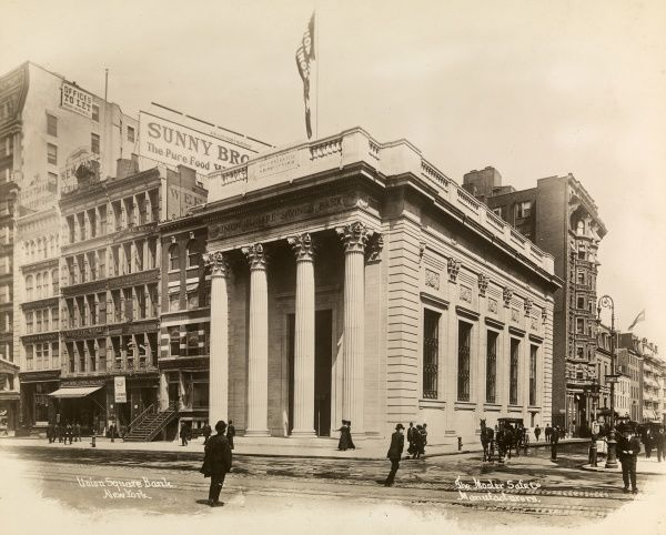 The Union Square Bank, New York, The Mosler Safe Co., Manufacturers