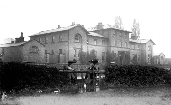 The Bedale Union workhouse, erected in 1839 at South End, Bedale, North Yorkshire