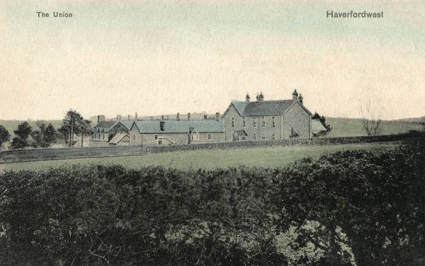 The Haverfordwest Union workhouse, designed by William Owen, was opened in 1839. It was later known as Priory Mount and then as St Thomas Hospital