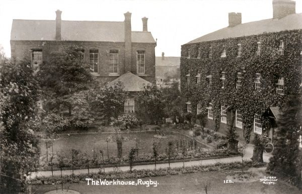 The Rugby Union workhouse on Lower Hillmorton Road, Rugby, Warwickshire