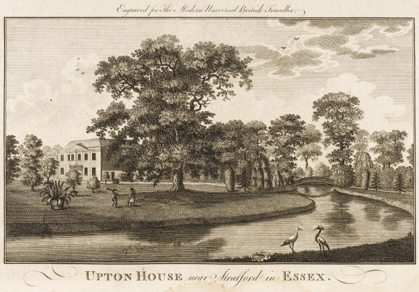 UPTON HOUSE near Stratford, Essex