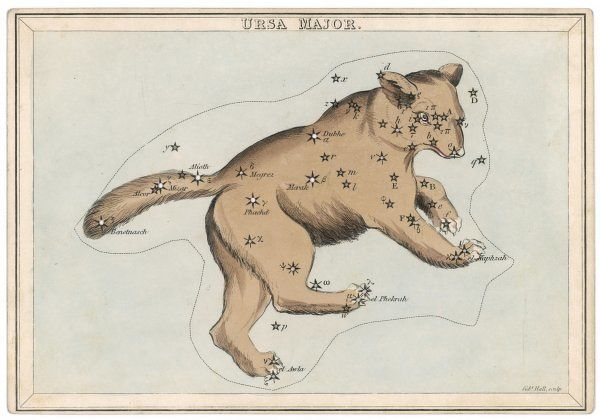 The constellation of Ursa Major