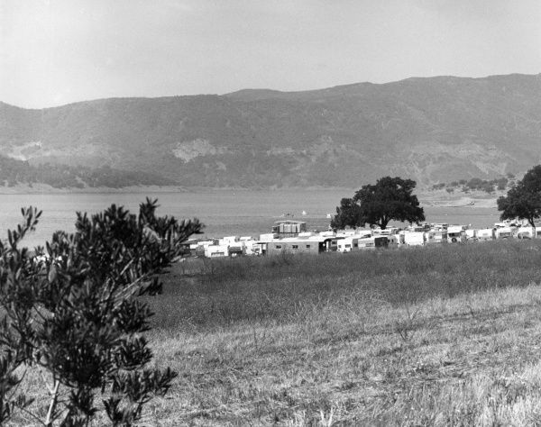 Lake Casitas, near Ojai, southern California, U.S.A. Date: late 1960s