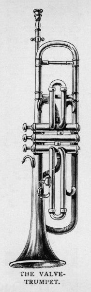 The VALVE TRUMPET is a sophisticated version of the Natural Trumpet, and is the form generally used
