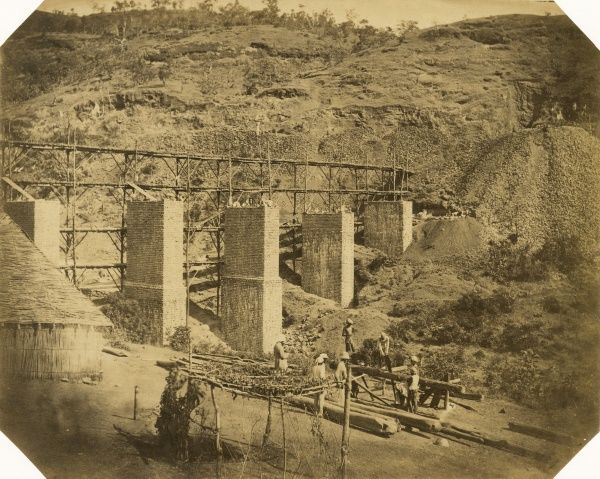 Viaduct no.1; at 3 1/4 miles Date: 1856
